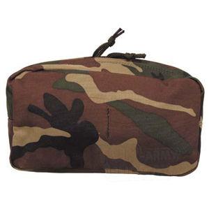 Víceúčelová kapsa MOLLE MFH® velká - woodland (Barva: US woodland)