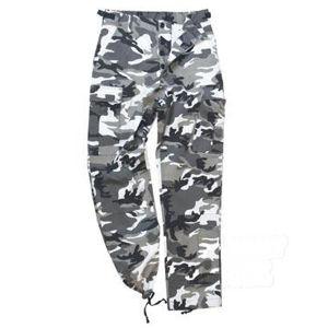 Kalhoty US BDU Rip Stop Mil-Tec® - urban předeprané (Barva: Urban, Velikost: XL)