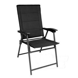 Skládací židle ARMY Mil-Tec® - černá (Barva: Černá)