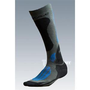 Ponožky se stříbrem Batac Mission - podkolenka - sand-green (Velikost: 9-10)