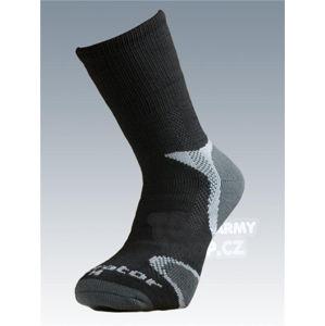 Ponožky se stříbrem Batac Operator Thermo - black (Barva: Černá, Velikost: 11-12)