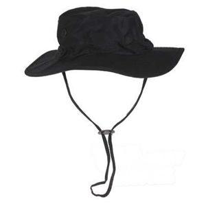 Klobouk Bush De Luxe Rip Stop FOSTEX® - černý (Barva: Černá, Velikost: XL)