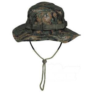 Klobouk Bush De Luxe Rip Stop FOSTEX® - woodland digital (Barva: MARPAT™ Digital woodland, Velikost: XL)
