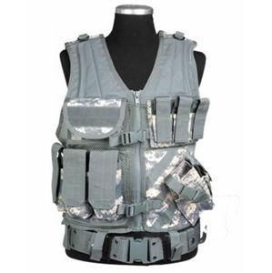 Taktická vesta USMC s opaskem Mil-Tec® - AT Digital (Barva: AT digital)