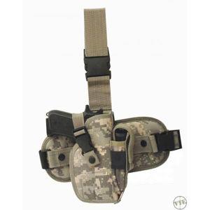 Stehenní platforma s odnímatelným pistolovým pouzdrem - AT Digital (Barva: AT digital)