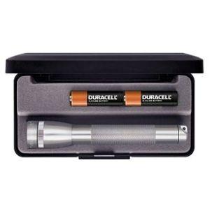 Svítilna MINI MAGLITE® 2AA-cell – titanovo šedá (Barva: Šedá)