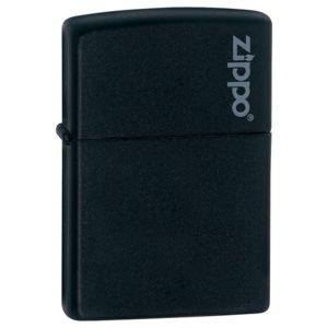 Zapalovač Zippo BLACK ICE W-ZIPPO (Barva: Černá, Varianta: matte - logo Zippo®)