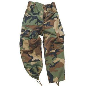 Dětské kalhoty US BDU Mil-Tec® - woodland (Barva: US woodland, Velikost: M)