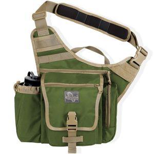 Brašna na rameno MAXPEDITION® Jumbo K. I. S. S.™ Versipack® - zeleno-khaki (Barva: Zelená / khaki)