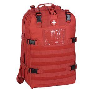 Profesionální lékařský-záchranářský batoh - červený (Barva: Červená)