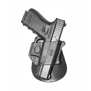 Pistolové pouzdro FOBUS® GLB EX BHP stehenní s opaskovým průvlekem na pistoli Booming nebo Glock