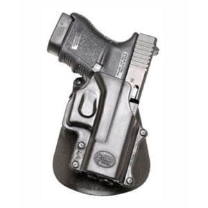 Pistolové pouzdro FOBUS® GL-4 A kotníkové s pádlem na pistoli Glock a Smith & Wesson