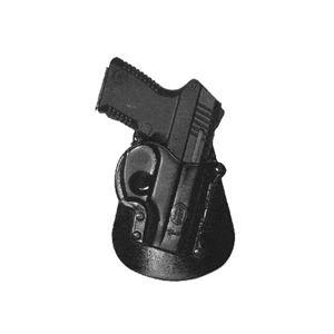 Pistolové pouzdro FOBUS® TAM EX BHP stehenní s opaskovým průvlekem na pistoli Taurus