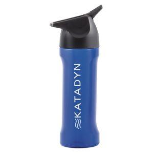 Přenosný třístupňový filtr KATADYN® MyBottle s lahví na pití - modrá (Barva: Modrá)