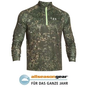 Triko UNDER ARMOUR® Launch Run - rifle green (Velikost: XXL)
