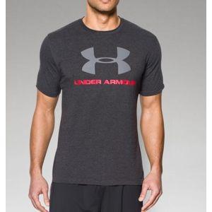 Pánské triko UNDER ARMOUR® Sportstyle - antracit (Velikost: L)