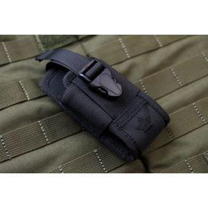 Pouzdro KIZLYAR SUPREME® AMP3 MOLLE - černé (Barva: Černá)