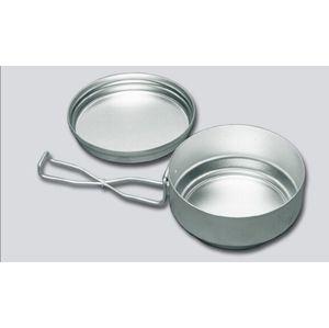 Hliníkové jídelní nádobí dvoudílné (ešus) ALB®