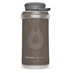Skládací láhev HydraPak® Stash 1 l - šedá (mammoth grey) (Barva: Mammoth Grey, Varianta: mammoth grey)