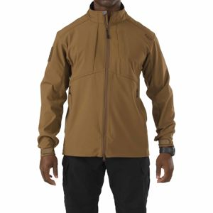 Softshellová bunda 5.11 Tactical® Sierra - Battle Brown (Barva: Battle Brown, Velikost: XL)
