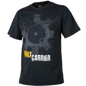 Tričko Helikon-Tex® Bolt Carrier - černé  (Barva: Černá, Velikost: S)