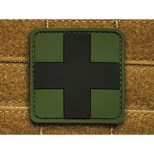 Nášivka JTG® Red Cross Medic - Forest (Barva: Forest Green)