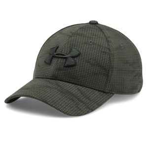 Kšiltovka UNDER ARMOUR® Printed Blitzing HeatGear® - Green (Barva: Zelená, Velikost: M-L)