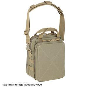 Taška přes rameno MAXPEDITION® Incognito™ Duo - khaki (Barva: Khaki)