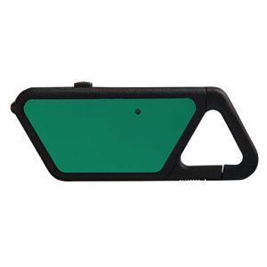 USB LED svítilna ASP® Sapphire - polymerový rám, zelená (Barva: Zelená)
