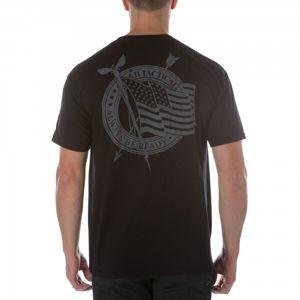 Tričko 5.11 Tactical® Flag Waiver - černé (Velikost: L)