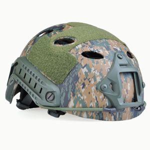 Airsoftová helma FAST PJ Element® - Digital Camo (Barva: MARPAT™ Digital woodland)