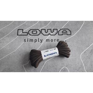 Tkaničky Lowa® 210 cm - hnědé (Barva: Terra Brown, Varianta: 210 cm)