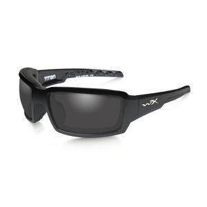 Sluneční brýle Wiley X® Titan - černé (Barva: Černá, Čočky: Kouřově šedé polarizované)