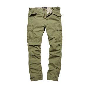 Kalhoty Miller M65 Vintage Industries® - zelené (Barva: Olive Drab, Velikost: 30)