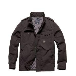 Bunda Alling Vintage Industries® - černá (Barva: Černá, Velikost: L)