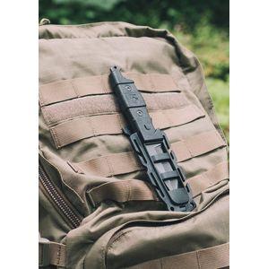 Nůž s pevnou čepelí Gear Aid® Kotu Survival - černý (Barva: Černá)