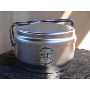Třídílné hliníkové kempingové nádobí - ešus ALB®