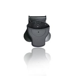 Pouzdro Cytac® na standardní pouta, vnitřní ⌀ 57,5 mm, vnější ⌀ 75,2 mm, bez víka - černé