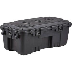 Přepravní box s kolečky a panty Plano Molding® Storage Trunk - černý (Barva: Černá)