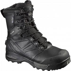 Boty Salomon® Toundra Forces CSWP - černé (Velikost: 10)