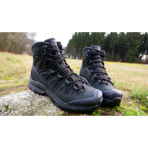 Boty Salomon® Quest 4D GTX Forces 2 EN – Černá (Barva: Černá, Velikost: 14,5)