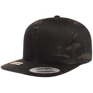 Kšiltovka FlexFit® Classics® Multicam® Snapback – Multicam® Black (Barva: Multicam® Black)