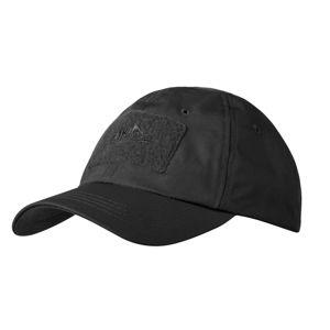 """Kšiltovka """"baseballka"""" Rip Stop Helikon-Tex® – Černá (Barva: Černá)"""