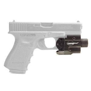 Taktické světlo s laserem MARKSMAN Gen2 PowerTac® – Černá (Barva: Černá)