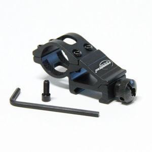 Montáž pro svítilny (E5, E9, M5, Cadet) PowerTac® – Černá (Barva: Černá)