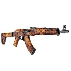 GunSkins® prémiový vinylový skin na AK-47 – Prym1® Fire Storm™ (Barva: Prym1® Fire Storm™)