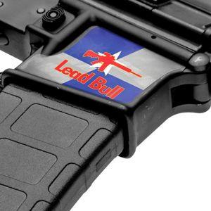 Maskovací skin na zásobníkovou šachtu AR15 – GS Lead Bull (Barva: GS Lead Bull)