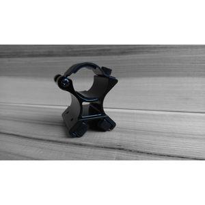 Magnetická montáž pro svítilny (E5, M5, Cadet, E9, Warrior, Warrior R) PowerTac® – Černá (Barva: Černá)