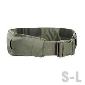 Opasek Tasmanian Tiger® Warrior Belt LC IRR – Stone grey olive (Barva: Stone grey olive, Velikost: L)
