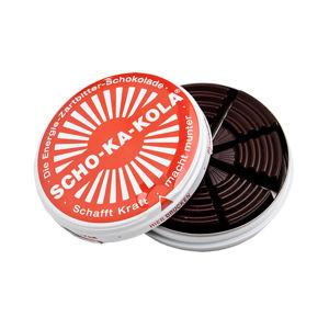 Energetická čokoláda Scho-ka-kola® 100 g – Hořká - červená (Barva: Hořká - červená)